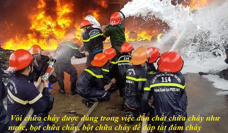 Mua vòi chữa cháy chính hãng chất lượng để đảm bảo an toàn cho công trình