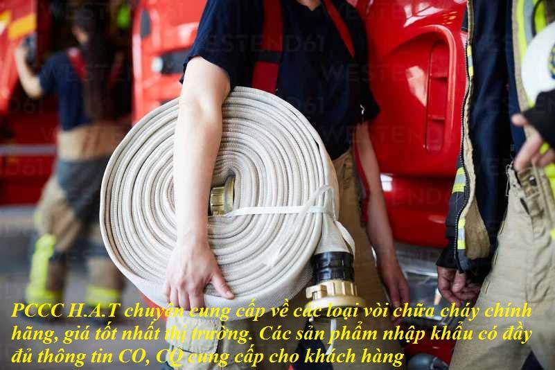 PCCC H.A.T chuyên cung cấp về các loại vòi chữa cháy chính hãng, giá tốt nhất thị trường. Các sản phẩm nhập khẩu có đầy đủ thông tin CO, CQ cung cấp cho khách hàng