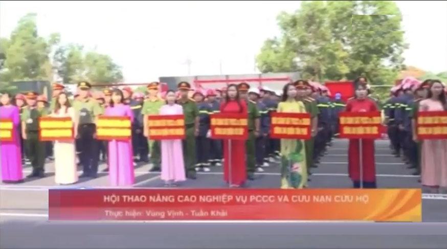 Hội thao phòng cháy chữa cháy TP.Hồ Chí Minh 2020