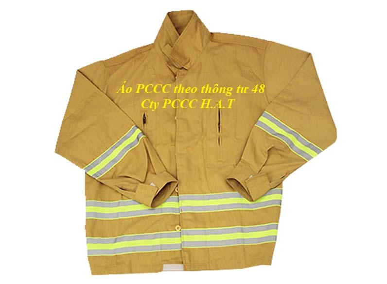 Áo chữa cháy theo thông tư 48