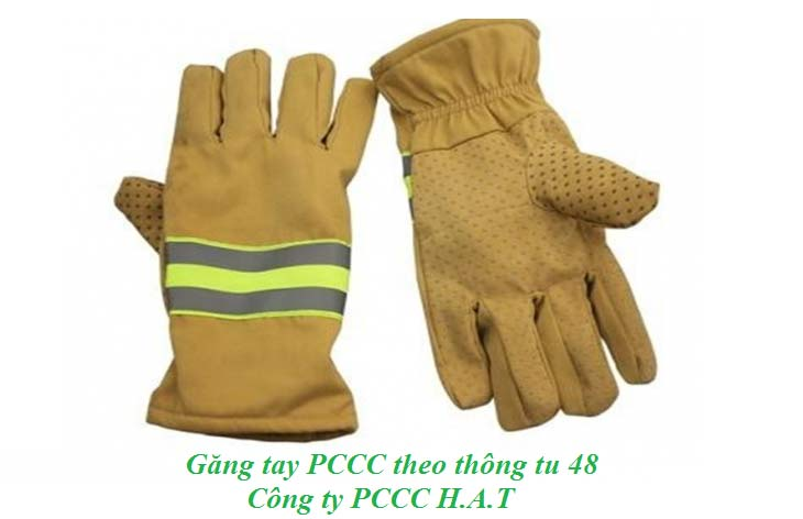 Găng tay PCCC theo thông tư 48