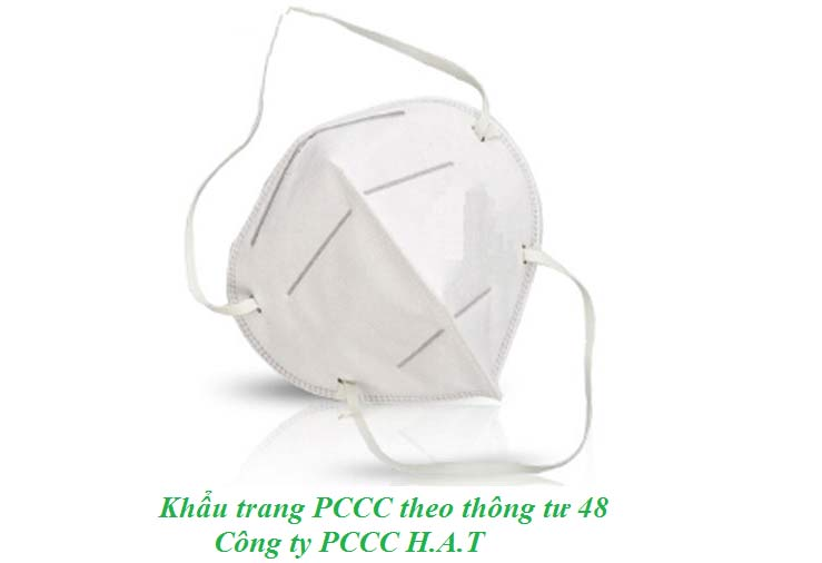Khẩu trang PCCC theo thông tư 48