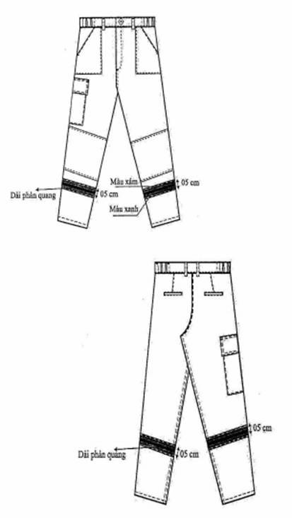 chi tiết kỹ thuật quần PCCC theo TT48