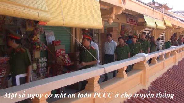 Một số nguy cơ mất an toàn PCCC ở chợ truyền thông