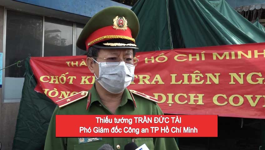 Lực lượng cảnh sát PCCC CHCN chung tay đẩy lùi đại dịch covid-19