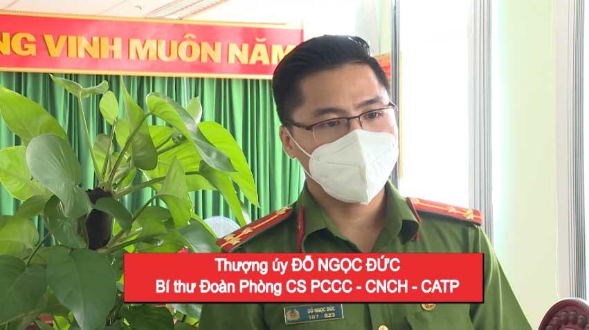 tham gia hiến máu nhân đạo của lực lượng PCCC