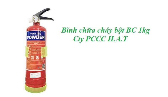 Bình chữa cháy bột BC 1kg