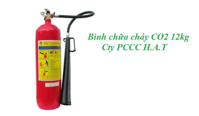 Bình chữa cháy CO2 12kg
