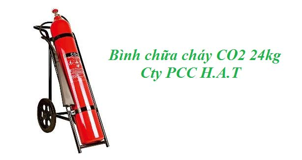 Bình chữa cháy CO2 24kg