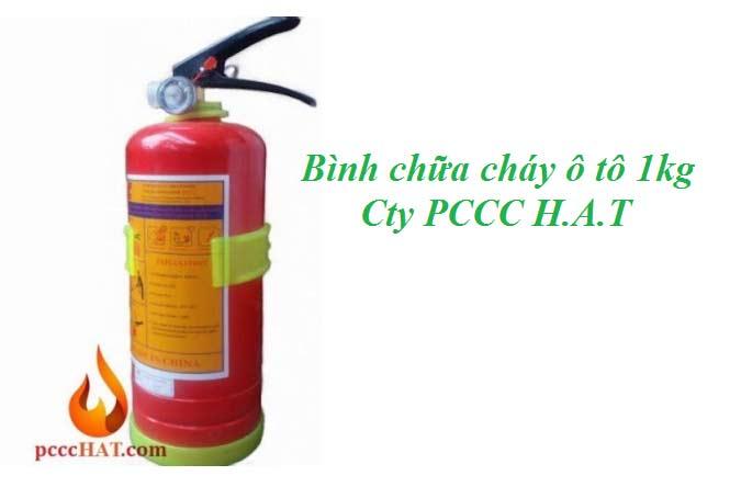 Bình chữa cháy oto 1kg