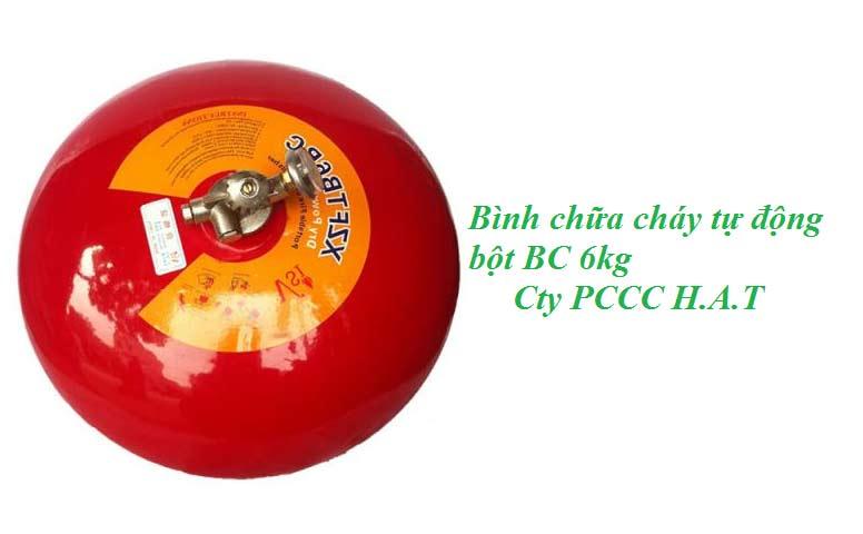 Bình chữa cháy tự động bột BC 6kg