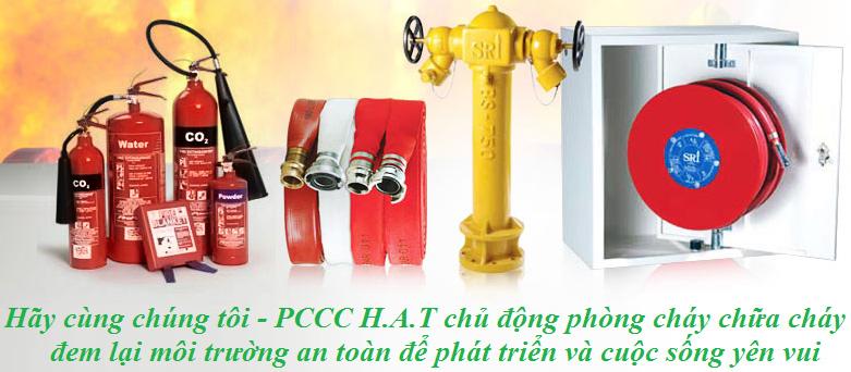PCCC H.A.T chuyên cungcapas thiết bị phòng cháy và chữa cháy giá tốt nhất