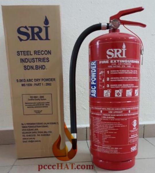 Bình chữa cháy SRI - MALAYSIA, Bột ABC, 6KG