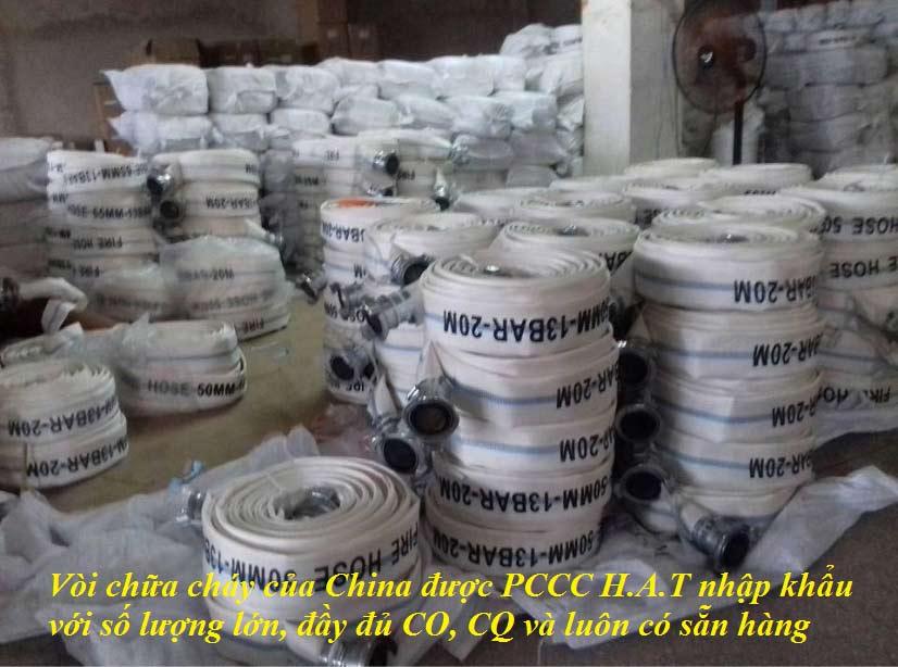 Cuộn vòi chữa cháy Trung QuốcD65 10Bar 30M