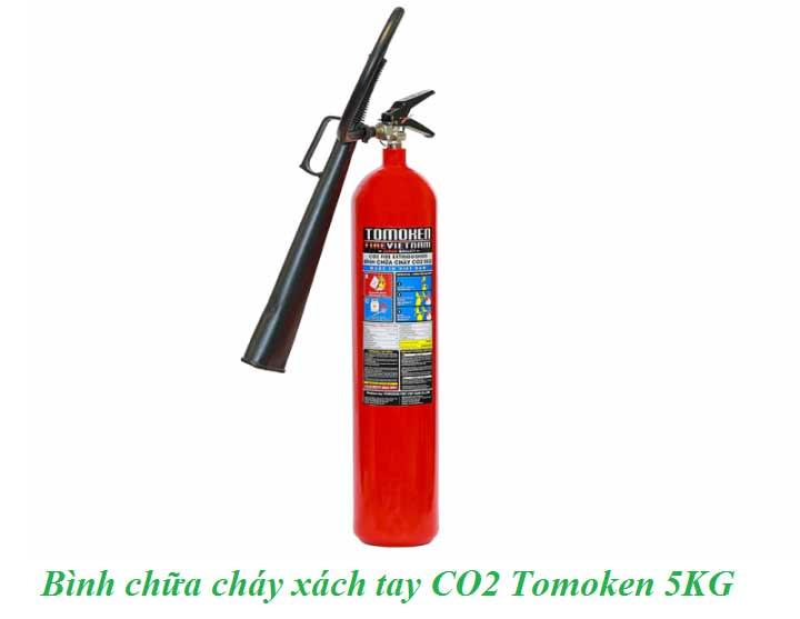 bình chữa cháy tomoken CO2 5KG