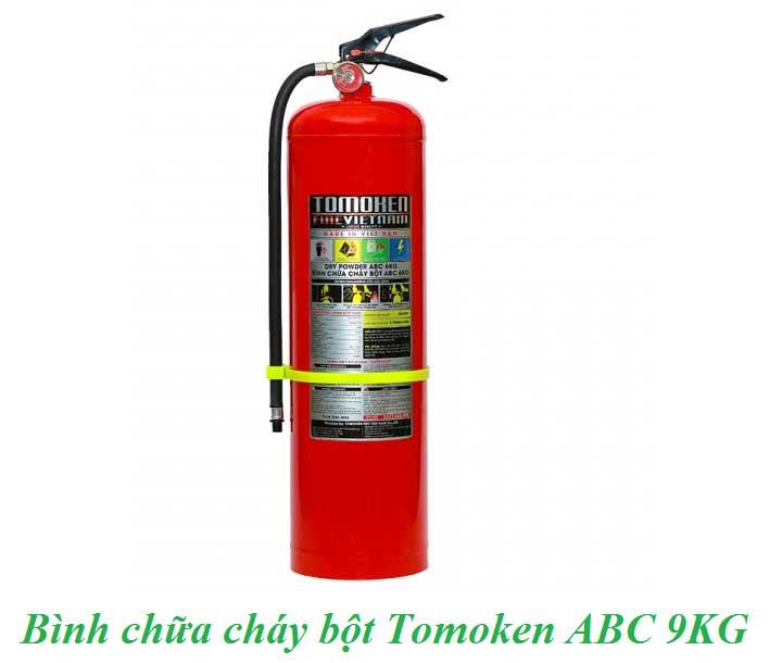 bình chữa cháy bột tomoken ABC 9KG