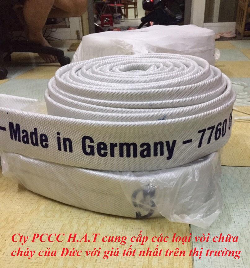 Cuộn vòi chữa cháy jakob D50 của Đức 17bar 30m