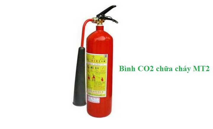 Bình chữa cháy Khí CO2 MT2 2kg