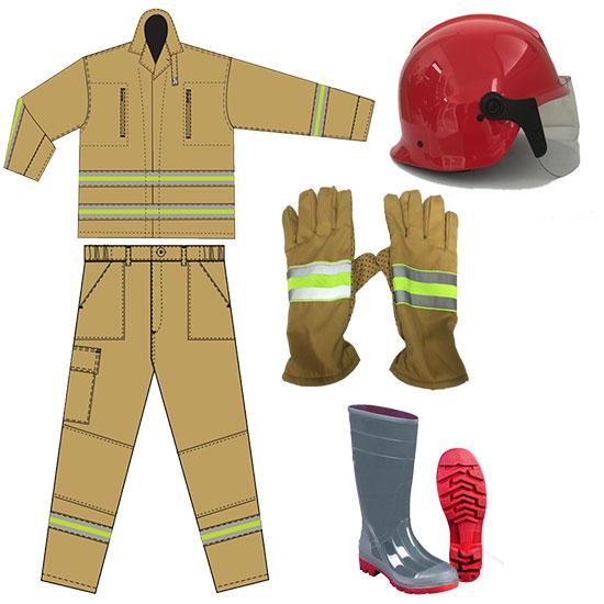 trang phục PCCC theo thông tư 48