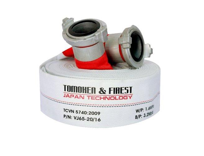 Cuộn vòi chữa cháy Tomoken D50 x 20m x 13bar